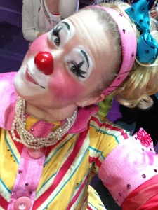 Clown Selfie1