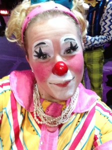 Clown Selfie2