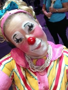 Clown Selfie3