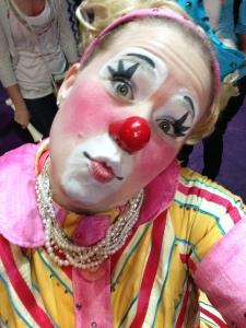 Clown Selfie4
