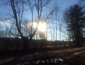 Sun over Mt. Vernon